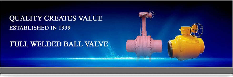 Full Welded Ball Valve