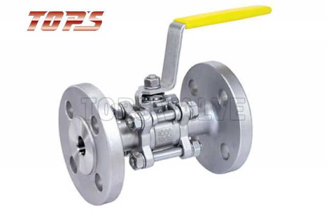 3 PC Fanged Full Bore Floating Ball Valve