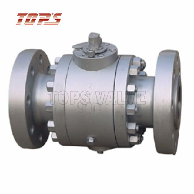 3PC High Pressure Forged Steel Floating Ball Valve