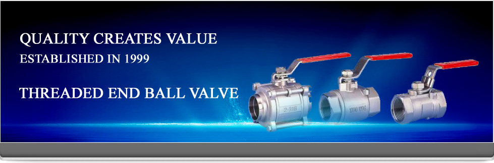 Threaded End Ball Valve