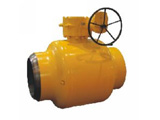 API 6D Full Welded Ball Valve