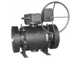 Metal Seated Forged Trunnion Ball Valve