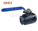 2-PC 3000psi Carbon Steel and Stainless Steel Ball Valve