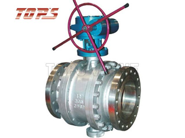 Pipeline Metal Seated Forged Trunnion Ball Valve