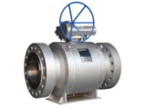 Metal to Metal Seated Trunnion Ball Valve
